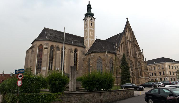 Pfarrkirche Enns St. Marien (© WGD Donau Oberösterreich Tourismus GmbH/Kranzmayr)