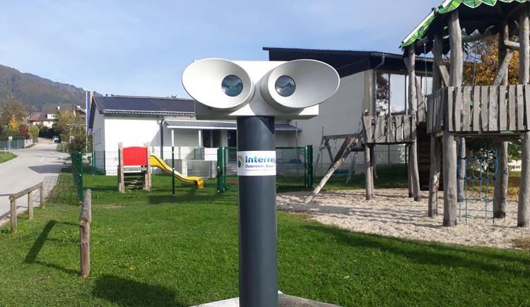 Stereoskop beim Spielplatz der Volksschule (© Johanna Kiebler)