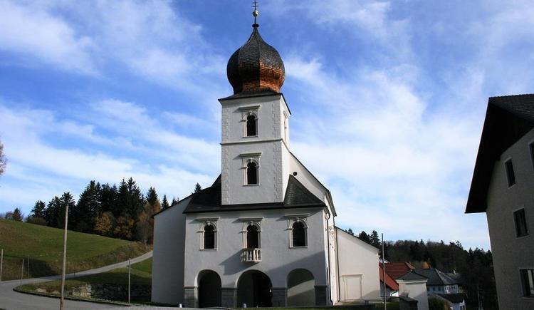 Wallfahrtskirche St. Wolfgang am Stein (© Ferienregion Böhmerwald)