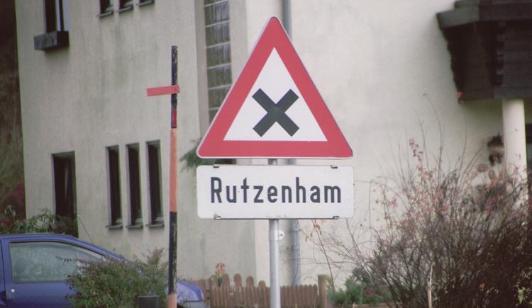 Rutzenham Verkehrsschild. (© TTG Tourismus Technologie)