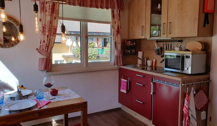 FeWo 2 - Küche (© Landhaus Osborne)