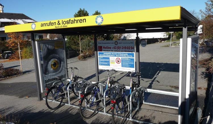E-Bike-Verleih (© Gemeindeamt St. Johann)