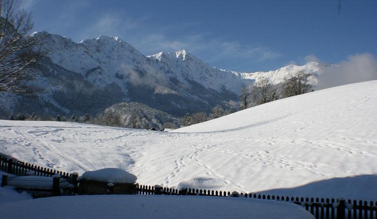 In die Loipen der Ferienregion Dachstein Salzkammergut können in unmittelbarer Nähe eingestiegen werden. (© Helga Hummelbrunner)