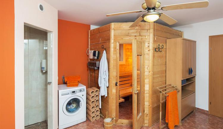 Sauna in der Ferienwohnung Hirscherl (© Kornek)