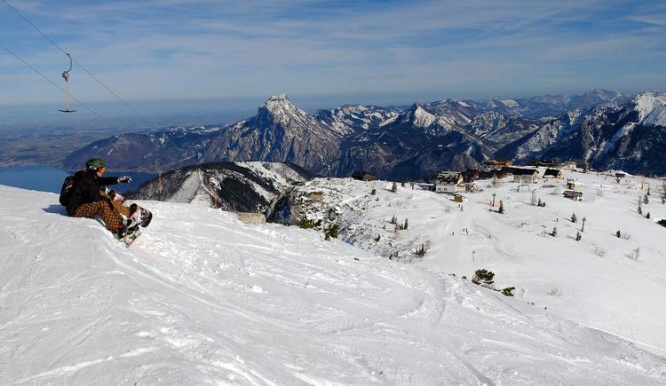 Skigebiet Feuerkogel mit großartiger Aussicht (© Rudolf Kirth)