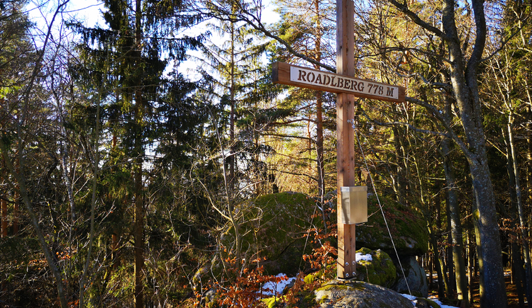 Gipfelkreuz Roadlberg (© Tanja Mittermair)