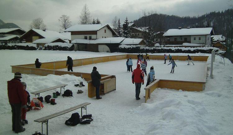 Eislaufen in Faistenau