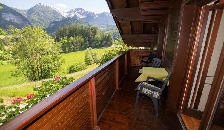 Ausblick vom Balkon (© Lindbichler)