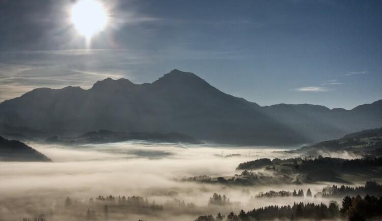 Nebel über Windischgarsten (© TVB Pyhrn-Priel/Bruno Sulzbacher)