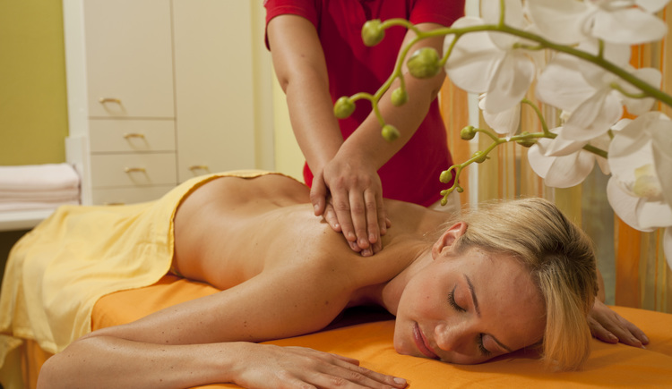 Massage im Eurothermen Resort Bad Ischl