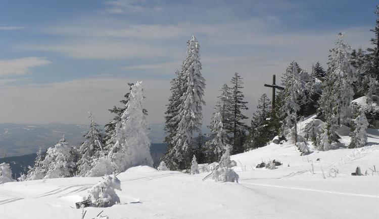 Schönbergfelsen im Winter (© Ferienregion Böhmerwald)