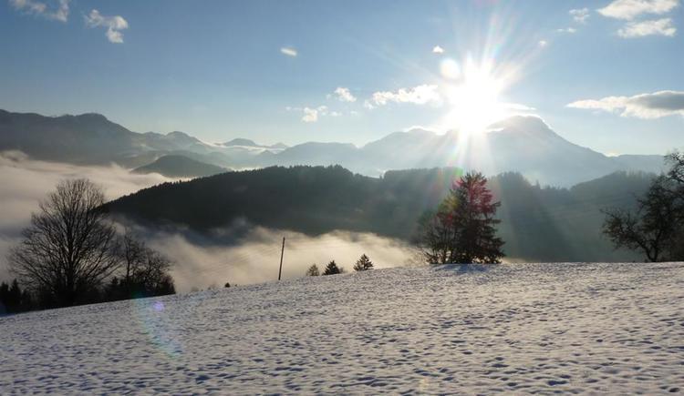 Winterlandschaft (© Ascher Hütte)