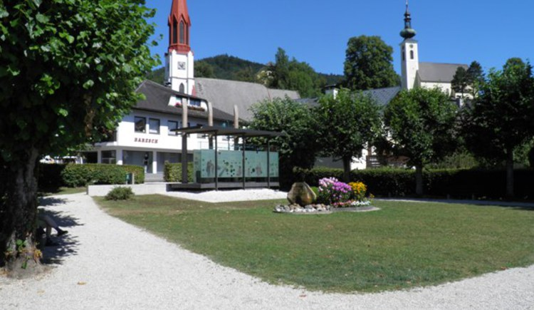 Pfahlbau Pavillon in Attersee (© Tourismusverband Attersee-Attergau)