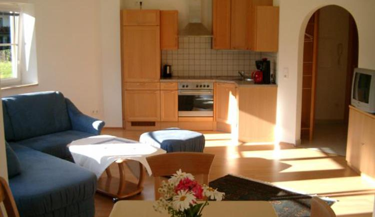 Apartment ground floor - kitchen & living room