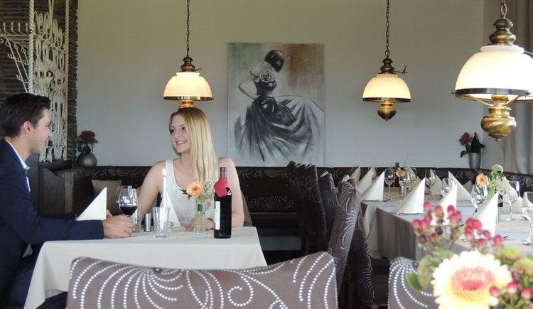 Restaurant im Hotel Blumenhof, Hipping, 4880 Berg im Attergau. (© Hotel Blumenhof)