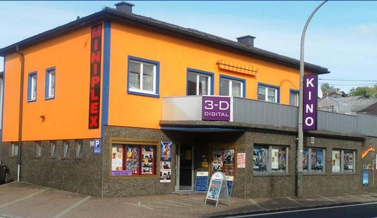 Miniplex-Kino, Eingang, Seewalchen am Attersee, Salzkammergut. (© Miniplex Seewalchen)