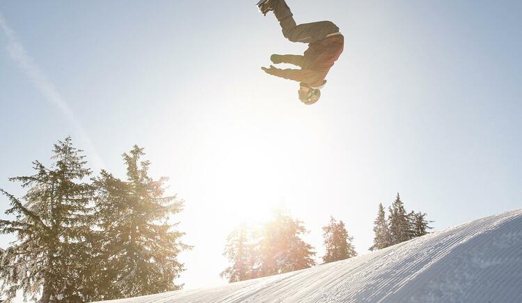 Kasberg - Snowboarden- Funpark - your Style (© OÖ.Tourismus GMBH, Foto Salih Alagic)