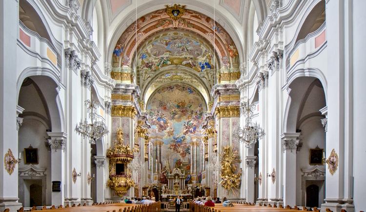 Stiftskirche Spital am Pyhrn innen (© TVB Pyhrn-Priel/Bruno Sulzbacher)