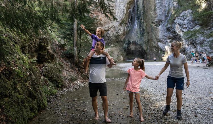 Familie Wasserfall (© (c) Größinger)