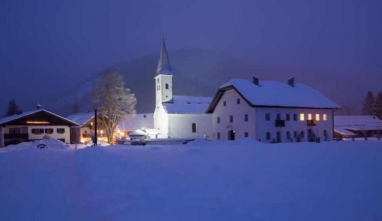 Stille Nachtort Hintersee (© Stille Nachtland und SLT)