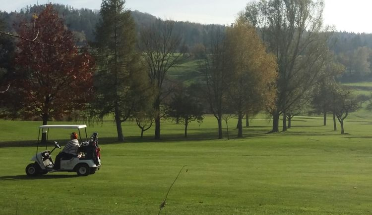 Golfplatz in Kirchham. (© Hofmann)