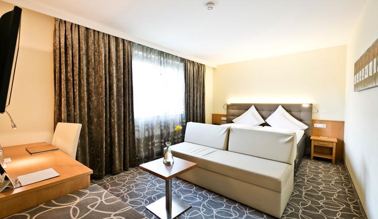 Doppelzimmer Classic Plus. (© Hotel Goldenes Schiff)