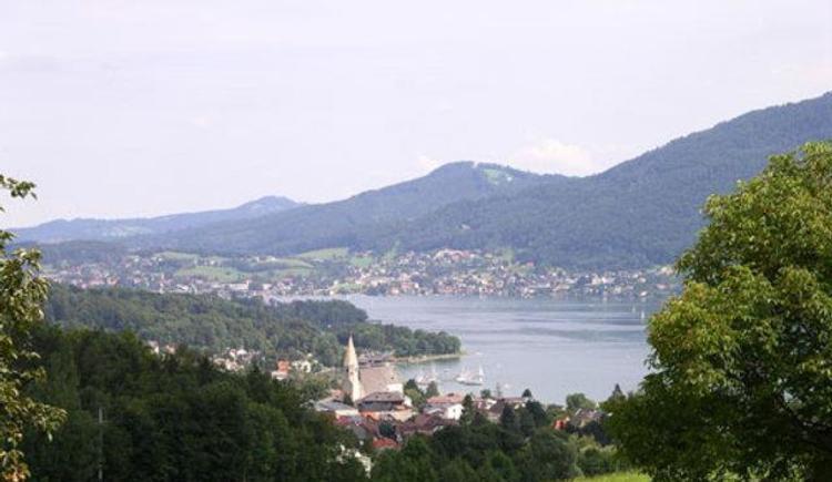 Blick über Altmünster und Gmunden vom Grasberg (© Ferienwohnungen Schiemel)
