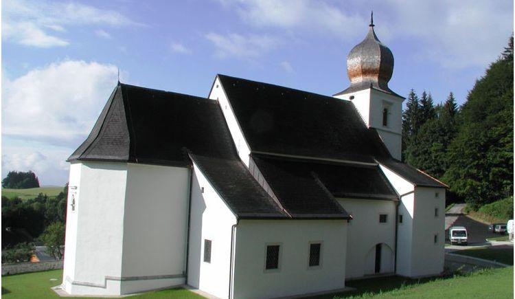 Wallfahrtskirche von außen. (© Ferienregion Böhmerwald)