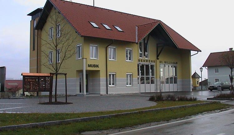 Feuerwehr Zeughaus. (© Gemeinde Sankt Willibald)