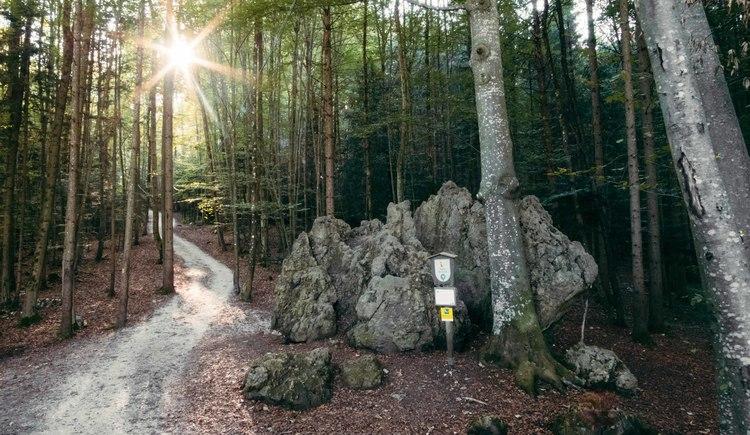 Einsiedlerstein am Siriuskogl (© www.badischl.at, Leitner Daniel)