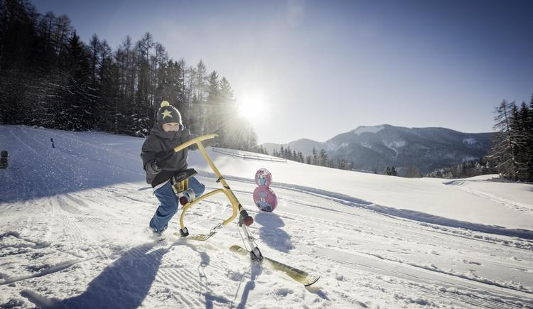 Snowbike (© Waldhofalm)