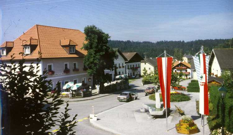 Ortsplatz Neustift. (© TV Neustift)