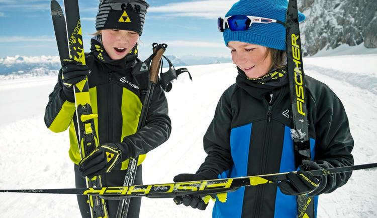 Langlaufen_Kinder_Junior_Fischer_Ski (© ©Fischer Sports GmbH / TVB Windischgarsten)
