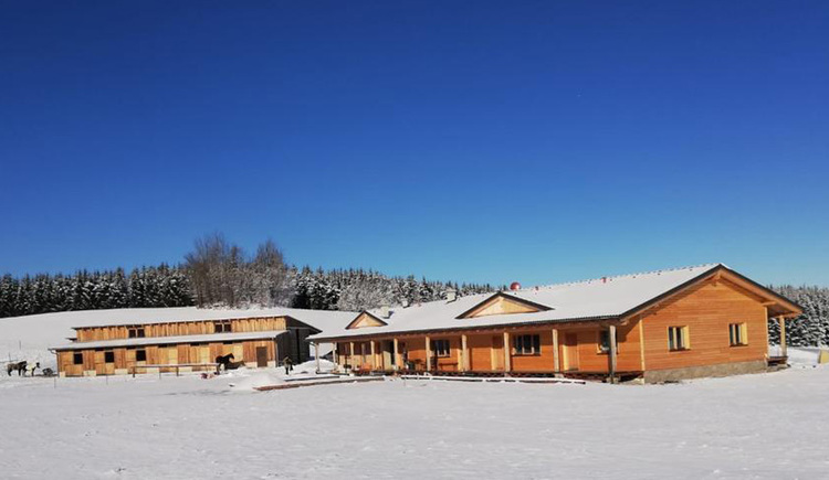 Big-Sky-Ranch Winter (© Familie Spiegl)