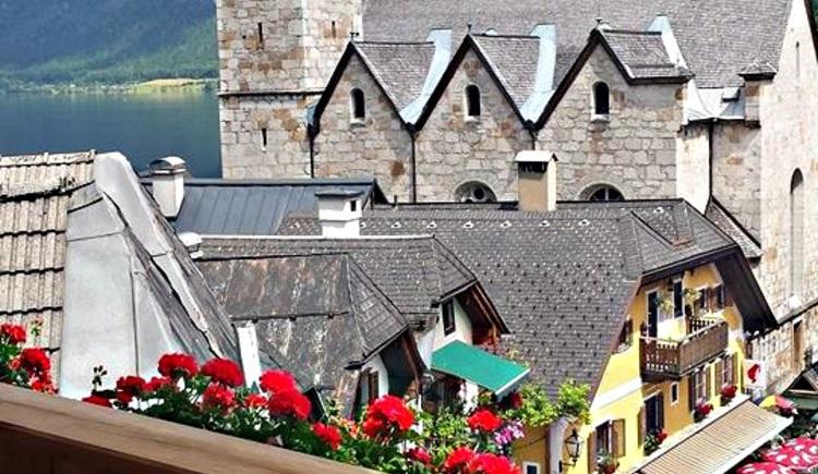 Auf dem Foto sieht man den Ausblick vom Zauner Seewirt vom Balkon aus. (© Seewirt Zauner)