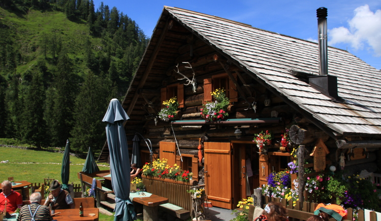 \nHere on the Rossalm you feel immediately comfortable in the alpine ambience.
