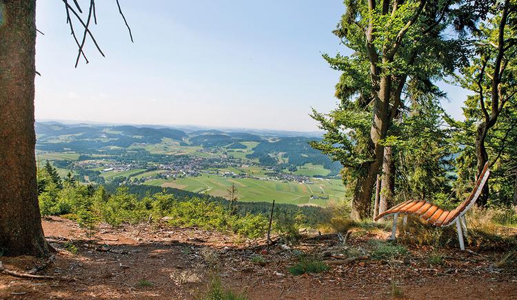 Weitblicke sammeln am Weg der Entschleunigung. (© Ferienregion Böhmerwald)