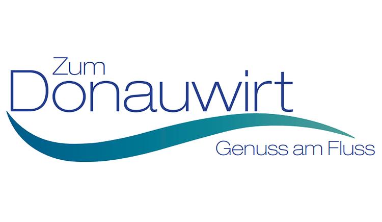 """Gasthaus \""""Zum Donauwirt\"""" Logo"""