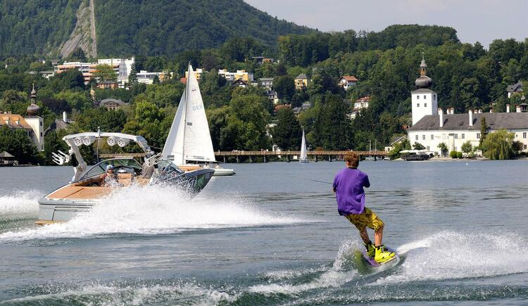 Wakeboarden am Traunsee (© TVB Traunsee-Almtal)
