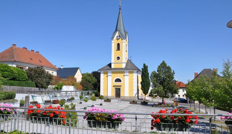 Pfarrkirche Alberndorf (© Tanja Mittermair)