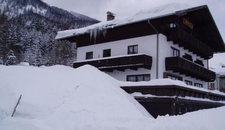 Haus Lisa Ansicht Winter