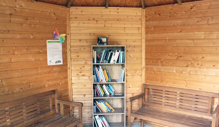 Bücherpavillon. (© LEADER-Region Mitten im Innviertel)