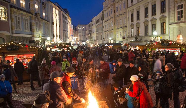 Schmiedeweihnacht in Steyr. (© Stadtmarketing Steyr)