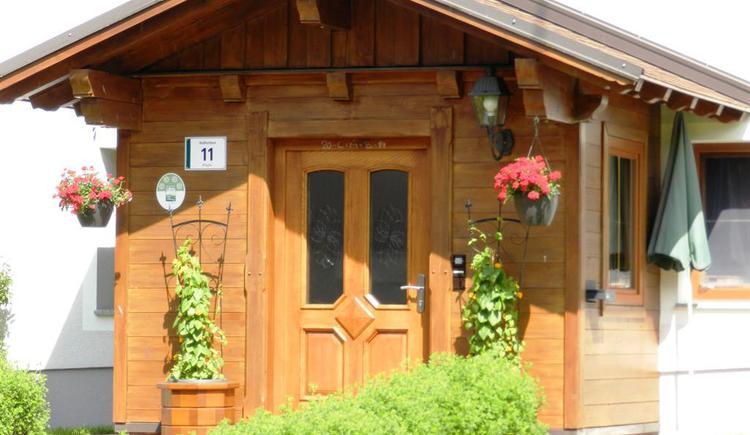 Eingangsbereich (© Baby- und Kinderbauernhof Riegler)