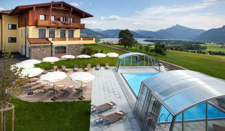 Blick-Pool-Haus-See. (© Johann Stabauer)