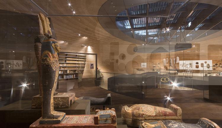 Die größte Sammlung an Kornmumien weltweit findet sich im PANEUM. (© ©Pillhofer)