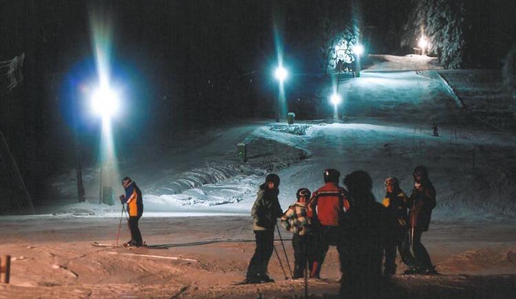Schifahrer, Schnee.
