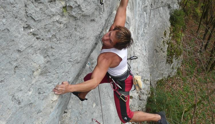 Mike Zottl in der Route Düsenflitzer