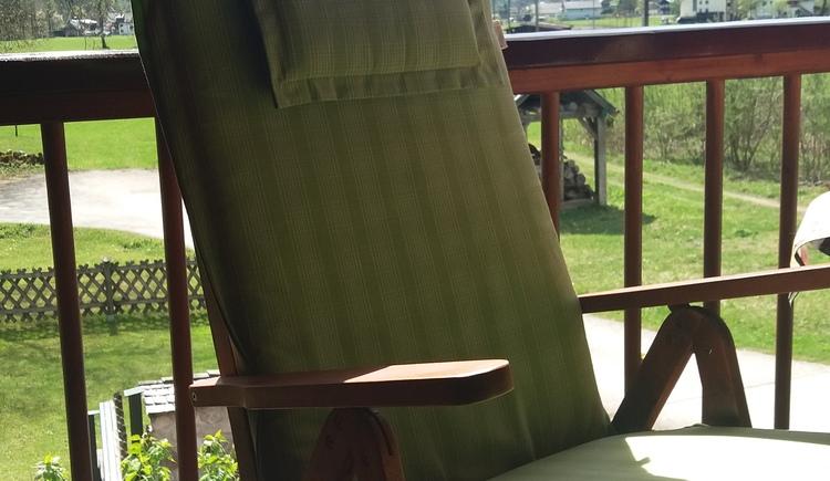 Wohlfühlen auf dem Süd-Balkon mit Sonne bis in die Abendstunden