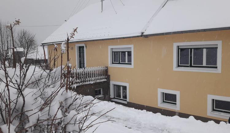 Die Ferienwohnung im Winter (© Bauer Christina)